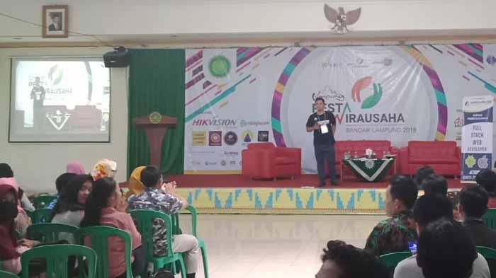 ACT Lampung, Rumah Zakat, dan DT Peduli Sosialisasi Kemanusiaan di Pesta Wirausaha Lampung 2018