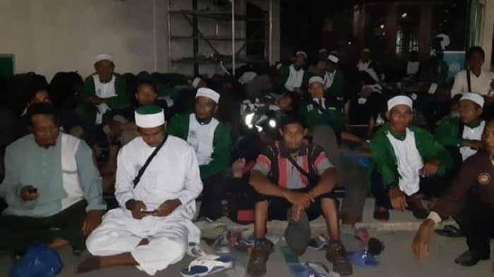 Peserta Syiar Khilafah Dijaga Polisi, Rombongan Dari Lampung Menginap di Masjid At Taqwa