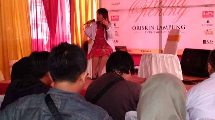 Oriskin Lampung Perkenalkan Injeksi Plasenta untuk Perawatan Kulit
