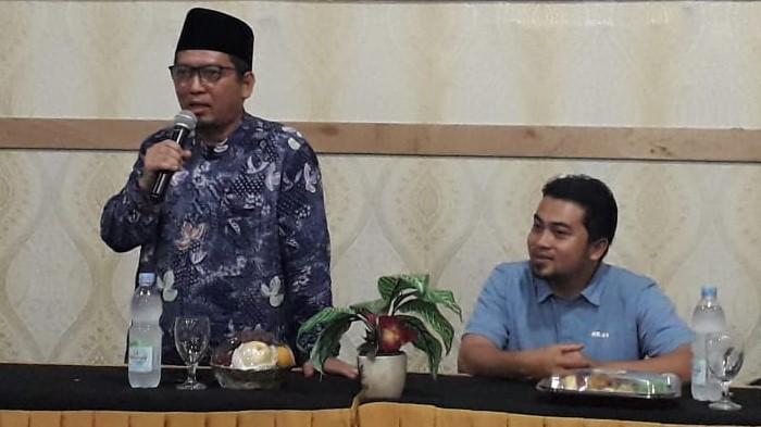 Almuzzammil Yusuf Sosialisasi Empat Piar Kebangsaan di Gedung DPW PKS Lampung