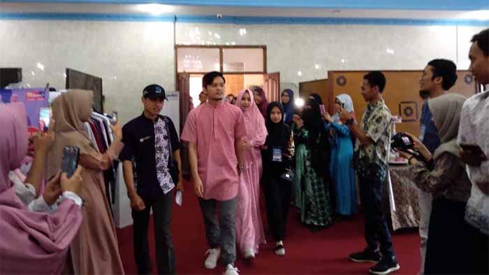 Anisa Rahma dan Dito Berbagi Pengalaman Ta'aruf kepada Anak Muda Lampung