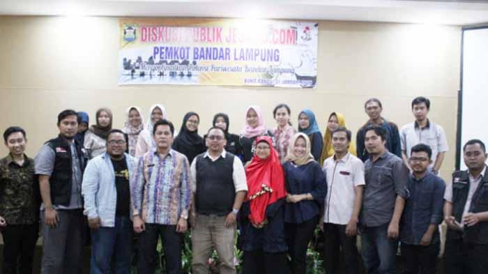 Kontribusi Pemikiran, Jejamo.com Gandeng Pemkot Bandar Lampung Gelar Diskusi Publik