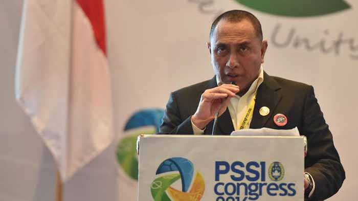Edy Rahmayadi Mundur dari Jabatan Ketum PSSI