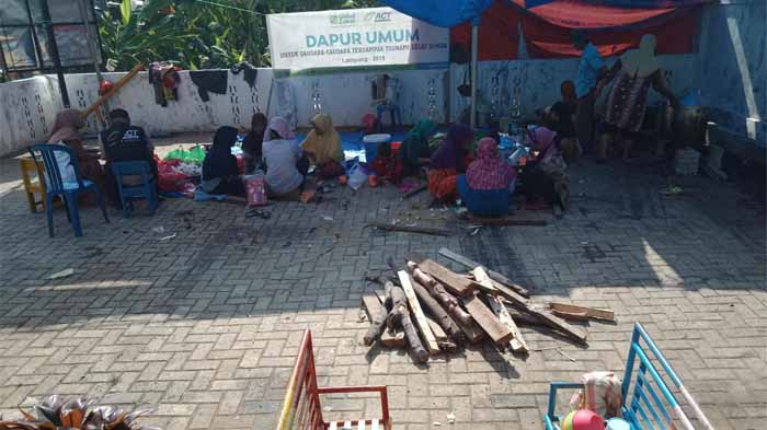 Penyintas Tsunami di Lampung Selatan