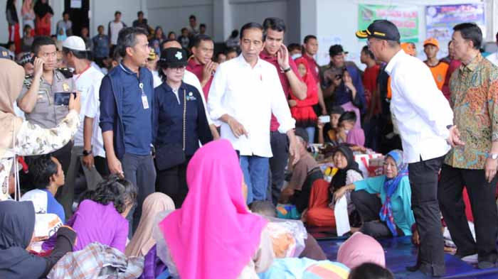 Jokowi dan Korban Tsunami Lampung Selatan Sepakat Ingin Relokasi