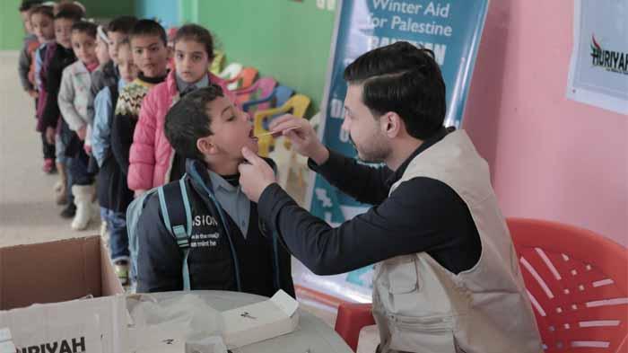 Layanan Kesehatan Jaga Anak-anak Gaza di Musim Dingin