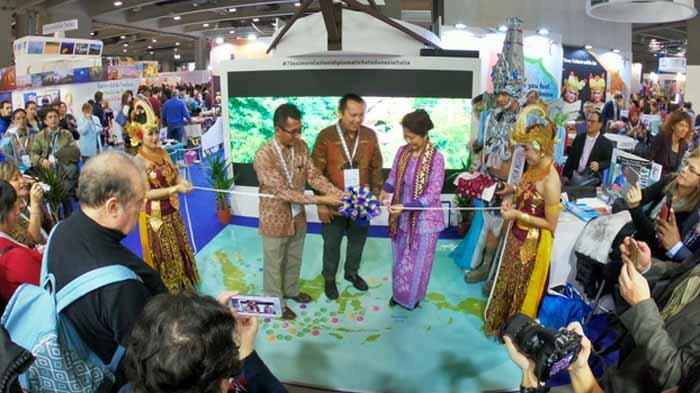 Gubernur Ridho Promo Wisata Lampung di Italia