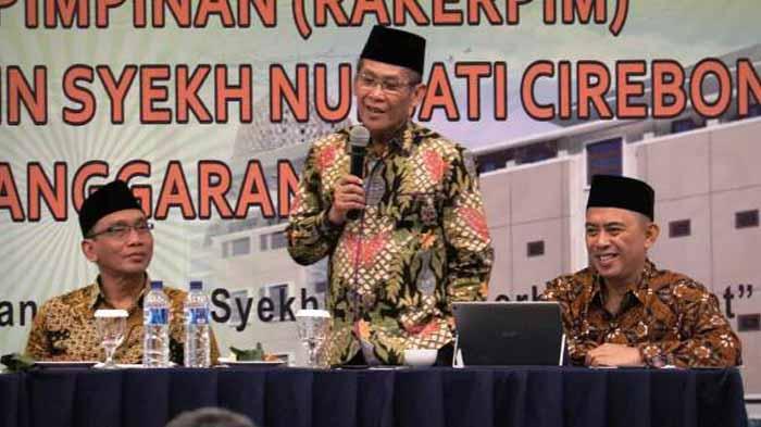 Jadi Pemateri di IAIN Cirebon, Rektor Mukri Berbagi Pengalaman Menjadi UIN