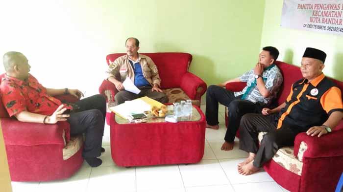 Komisi I DPRD Kota Bandar Lampung Kunjungi Panwascam Kemiling, Ada Apa?