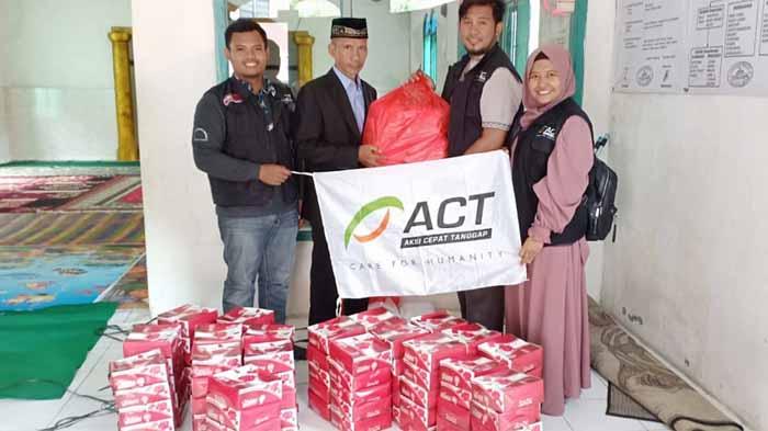 Puluhan Rumah Rusak Akibat Banjir di Way Lunik, ACT Lampung Kirim Bantuan