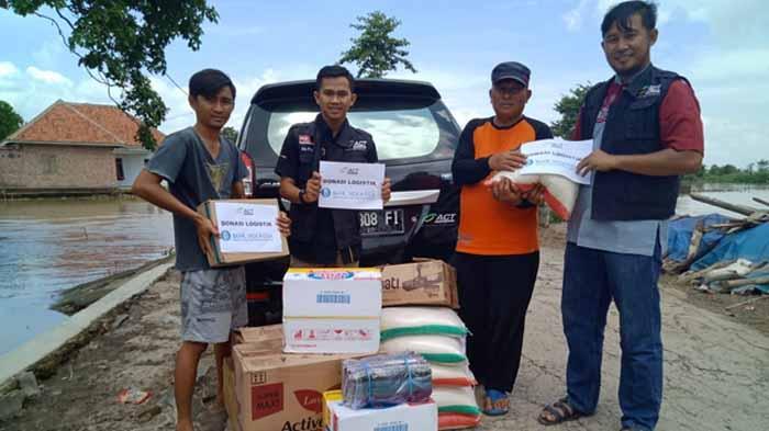 Bantuan Korban Banjir Menggala