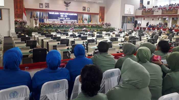 HUT Provinsi Lampung ke-55, DPRD Gelar Rapat Paripurna Istimewa