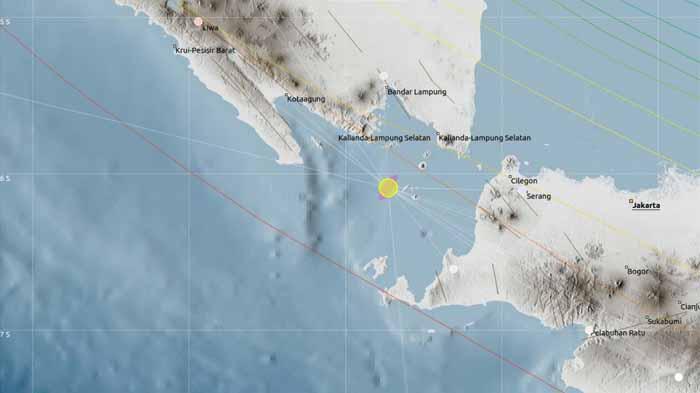 Gempa Lampung Selatan