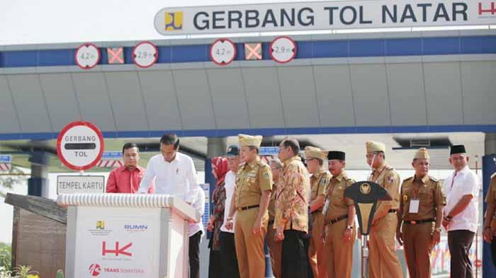 Peresmian Jalan Tol Lampung
