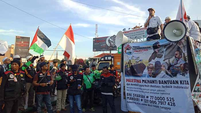 Elemen Masyarakat Lampung Kutuk Tindakan Israel Terhadap Palestina