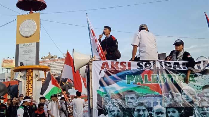 Aksi Solidaritas Peduli Palestina