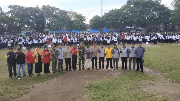 Memasuki Masa Tenang, Bawaslu Bandar Lampung Gelar Apel Siaga