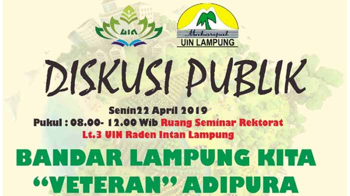 Peringati Hari Bumi 2019, Maharipal UIN Lampung Siap Gelar Diskusi Publik