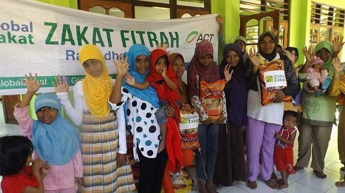 ACT Lampung Jemput Zakat Fitrah