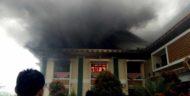 Kantor Bupati Pringsewu Kebakaran, Hitungan Detik Api Membesar