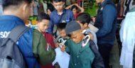 Keceriaan Anak di Panjang Beli Baju Lebaran Bersama Komunitas Ruang Sosial