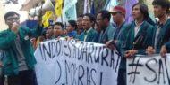 Mahasiswa Lampung Respon Tindakan Represif Aparat Dalam Aksi di Jakarta