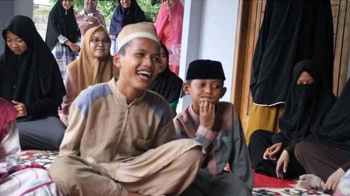 ACT Lampung Bersama MOS Buka Bareng Anak Asuh Panti Baitul Hijrah