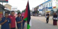 Aksi Kemanusiaan Pemuda Lampung Selatan Peduli Palestina