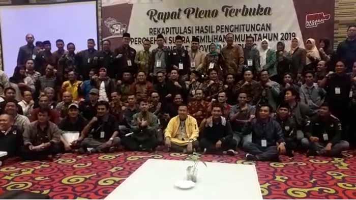 Pleno Terbuka KPU Lampung