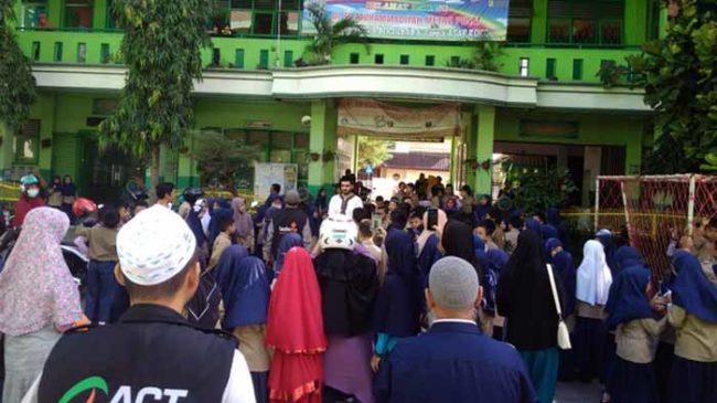 Lewat ACT Lampung, SD Muhammadiyah Metro Salurkan 25 Juta untuk Palestina