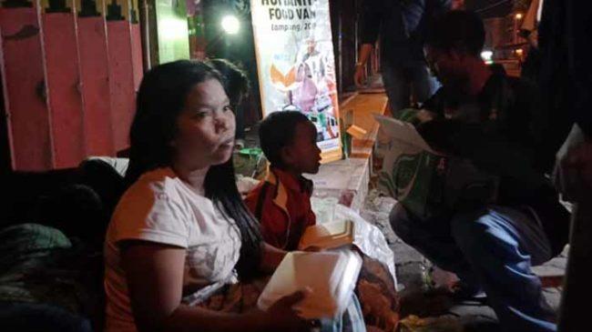 Berbagi Dengan Kaum Dhuafa, ACT Lampung Gelar Sahur On The Road