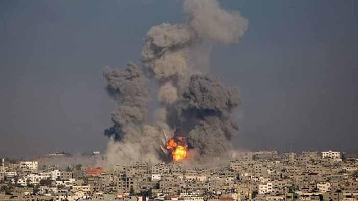 Serangan Udara Israel ke Palestina