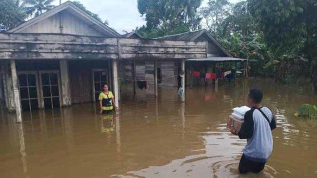 ACT Lampung Ajak Komunitas Peduli Bencana Banjir di Tanah Bumbu Kalsel