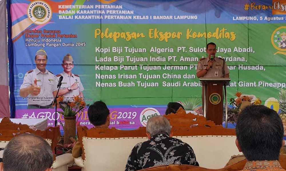 Balai Karantina Pertanian Bandar Lampung