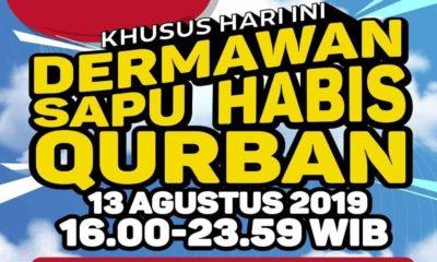 Dermawan Sapu Habis Qurban
