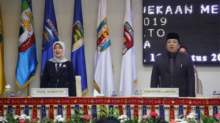 Gubernur dan Wakil Gubernur Lampung