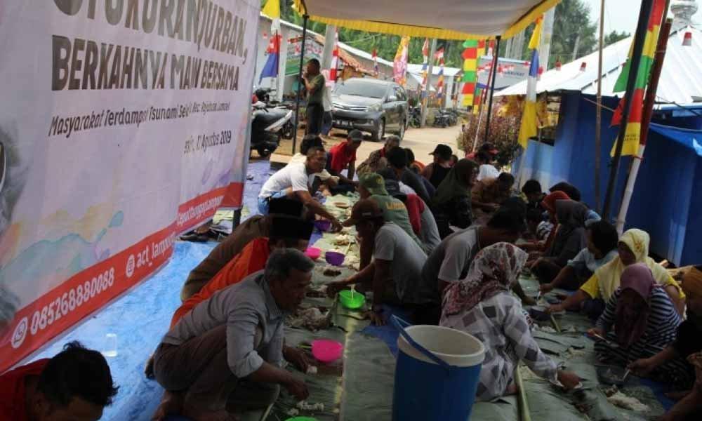 Syukuran Qurban ACT Lampung