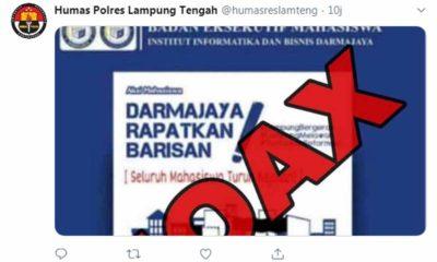 Aksi Mahasiswa Lampung