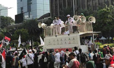 Aksi Mujahid 212 Selamatkan NKRI