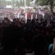 Mahasiswa Lampung Demo