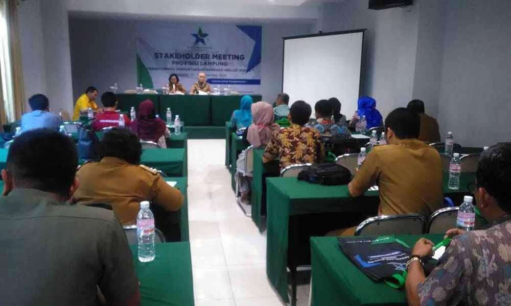 Stakeholder Meeting Provinsi Lampung