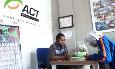 Bantuan untuk Pengungsi Wamena