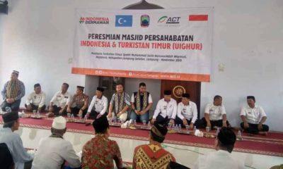 Masjid Persahabatan Indonesia dan Turkistan Timur