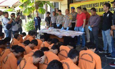 PNS Lampung Kasus Narkoba