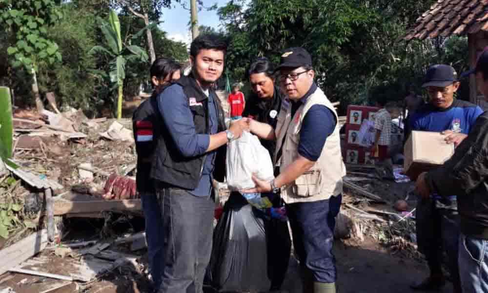 Banjir di Gedong Tataan
