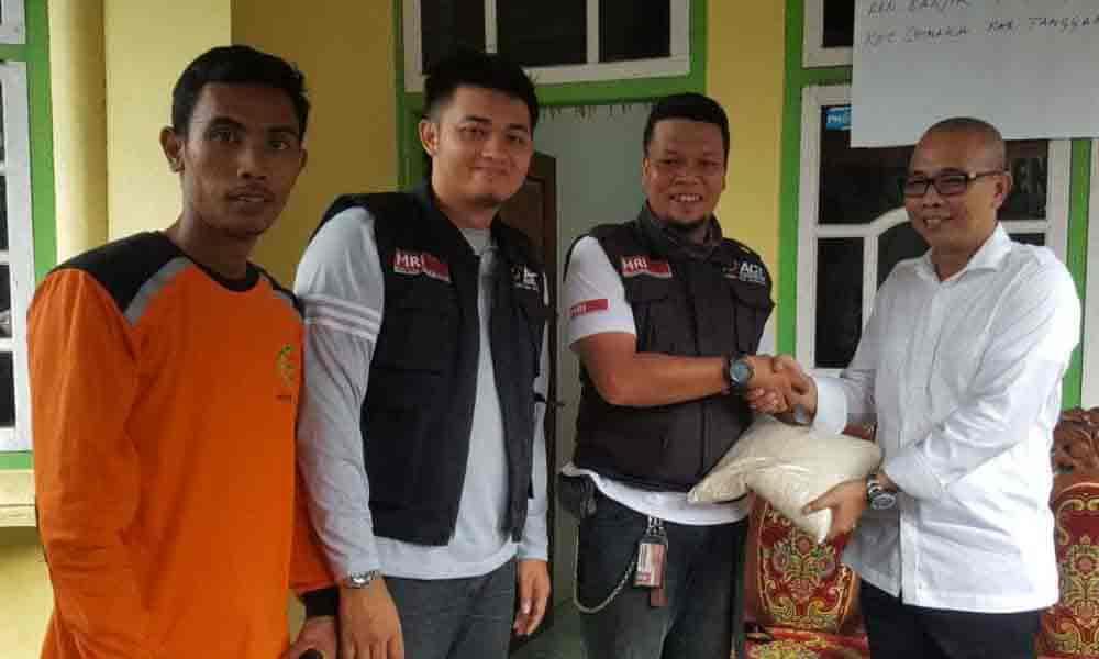 Bantuan Korban Banjir Tanggamus
