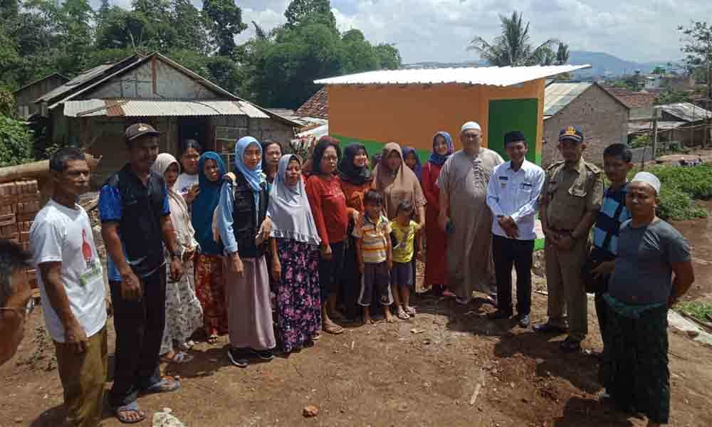 Peresmian Sumur Wakaf di Kelurahan Bakung