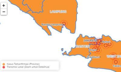 Bandar Lampung Transmisi Lokal Corona
