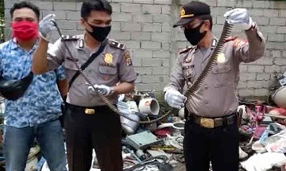 Penemuan Amunisi Lampung Timur