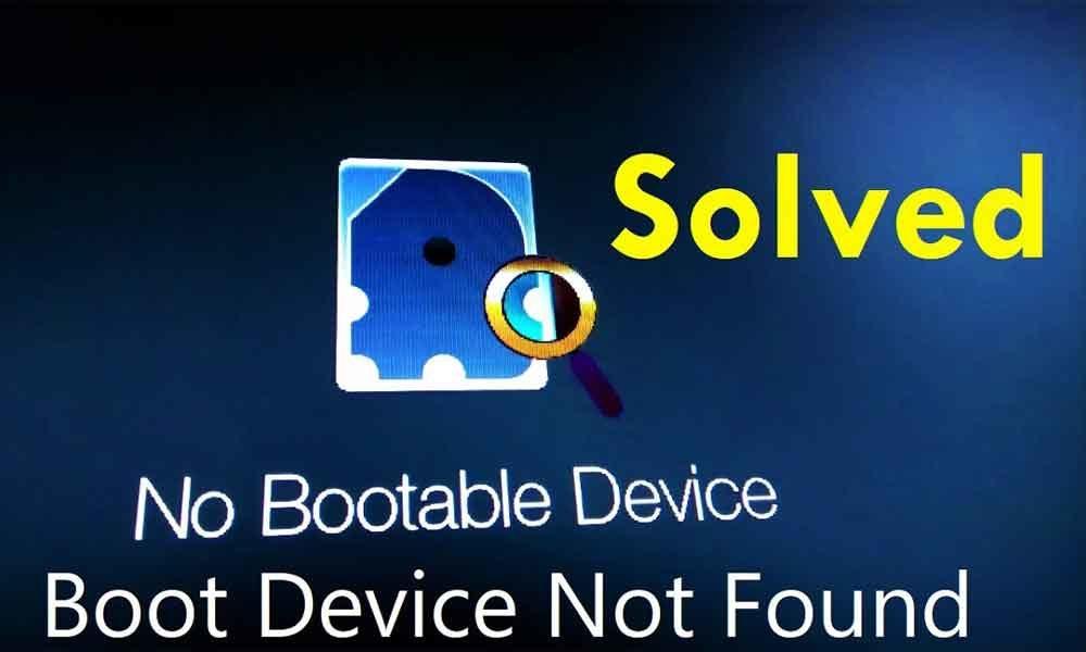 Cara Mengatasi No Bootable Device Pada Laptop Semua Merk
